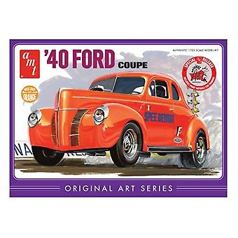 AMT Model Kit - 1940 Ford Coupe bil - 1:25 skala - AMT850 - ny