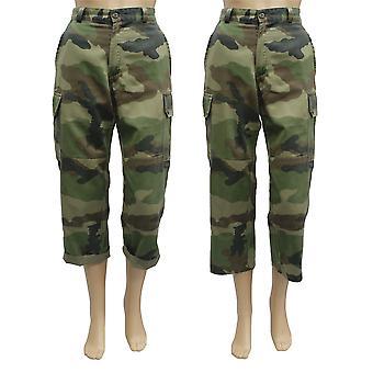 Vintage stijl VS opgedoken van militaire broek voor dames