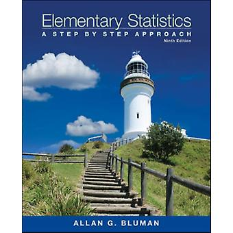 Elementary Statistics: A Step-by-Step Approach with Formula Card (Hardcover) by Bluman Allan G.