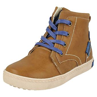 Boys JCDees Lace Up Ankle Boots N2038