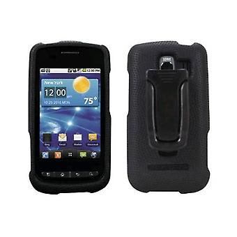 Body Glove Rubberized Snap-On Case for LG Vortex VS660 (Black)