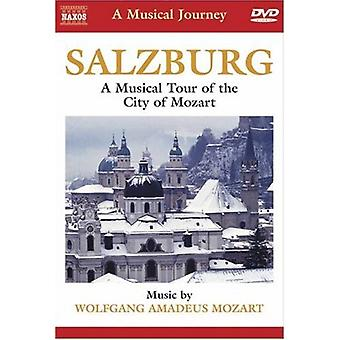 Musical Tour of the City of Mozart [DVD] USA import