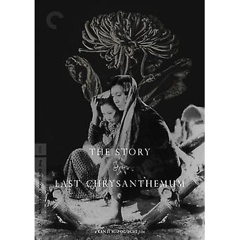Story of Last Chrysanthemum [DVD] USA import