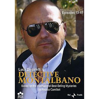 Detektiv Montalbano, episoder 13-15 [DVD] USA importerer