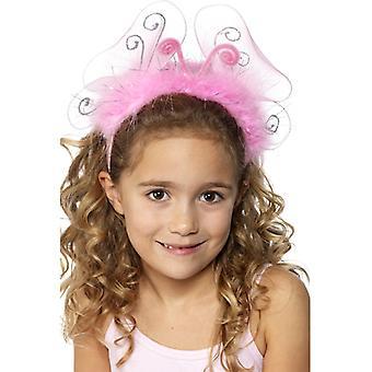 Flashing pink girls headbands