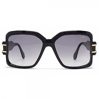 Cazal 523 Sunglasses In Shiny Black Gold