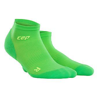 CEP damer gå sock dynamisk + ultralet low-cut - grøn