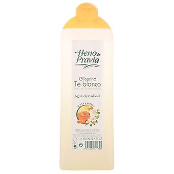 Heno De Pravia Cologne 650 Ml Glycerin And White Tea (Man , Perfumes , Perfumes)