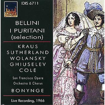 Bellini / Kraus / San Francisco Opera Orchestra - Jeg Puritani udvalg [CD] USA import