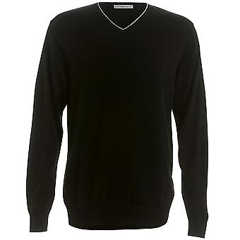 Kustom Kit Mens Contrast Arundel Sweater