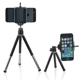 ONX3 (Tripod Phone Holder)  Adjustable Mini 360 Rotatable Tripod Stand with Phone Clip Holder For Samsung Galaxy S8