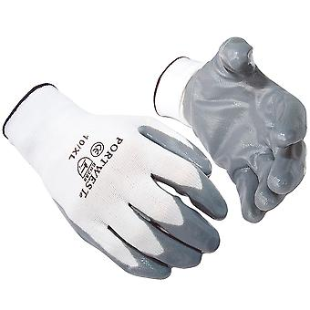 Portwest Flexo Grip Nitrile Gloves (A310) / Safetywear / Workwear