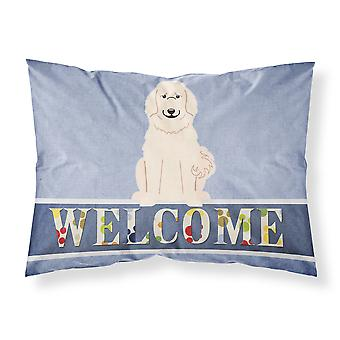 Great Pyrenese Welcome Fabric Standard Pillowcase