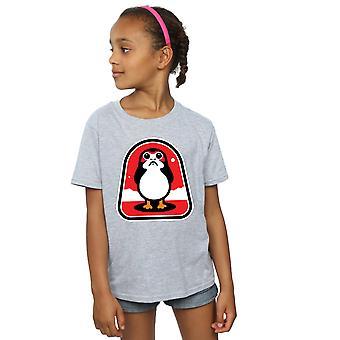 Star Wars filles le dernier T-Shirt insigne de Jedi Porgs