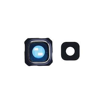 Samsung S6 Edge Plus camera lens cover met lens (glas) - Blauw