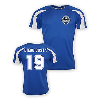 Diego Costa Chelsea Sports Training Jersey (blue) - Kids