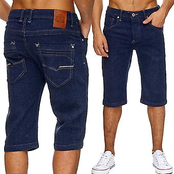 Men's Jeans shorts classic men washed out shorts summer Capri cargo