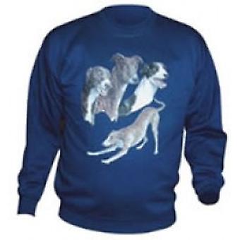 Sweat Shirt Design B-groß-grau