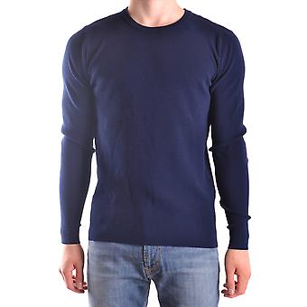 Daniele Alessandrini FM53712H370023 Blau viscose sweater men