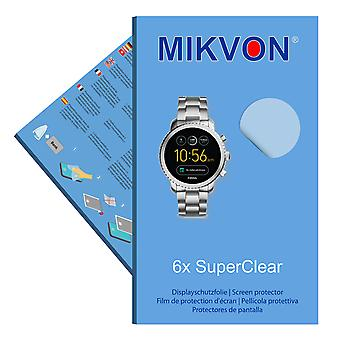 Fossil Q Explorist 3. Gen screen protector- Mikvon films SuperClear