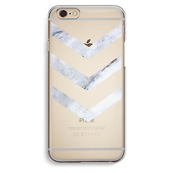 Iphone 6 6s Transparent Case (Soft) - Marble arrows