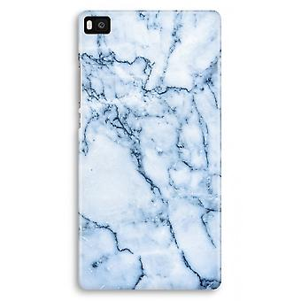 Huawei Ascend P8 Full Print Case - Blue marble