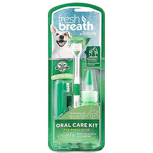 Tropiclean Fresh Breath Oral Care Kit For Small Dogs