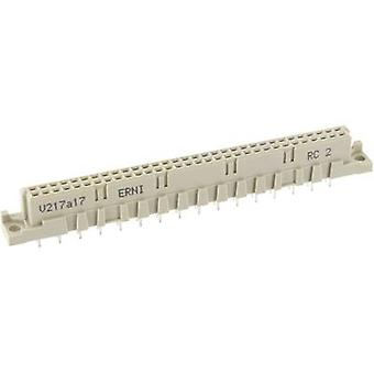 Edge connector (receptacle) 284166 Total number of pins 64 No. of rows 2