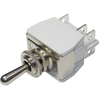 Toggle switch 250 Vac 6 A 2 x On/On APEM 6-646H/2