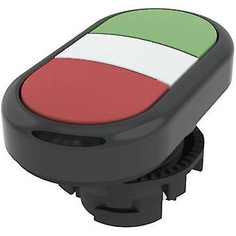 Double head pushbutton planar Green, Red