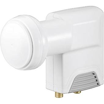 Twin LNB Goobay Universal No. of participants: 2 LNB feed size: 40 mm gold-plated terminals