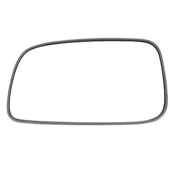 Left Stick-On Mirror Glass for Toyota AVENSIS Saloon 2003-2006