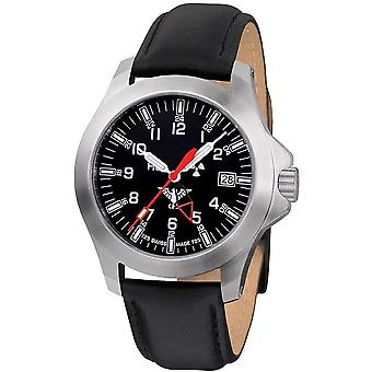 KHS horloges mens watch peloton GMT LDR KHS. PGLDR. L