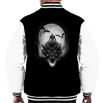 Game Of Thrones Mother Of Dragons Moonlight Men's Varsity Jacket