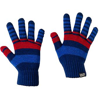 Jack Wolfskin Boys & Girls Light Warm Winter Cross Knit Gloves