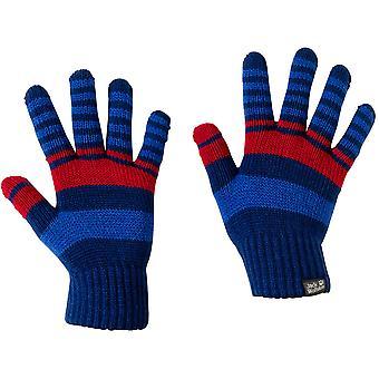 Jack Wolfskin jungen & Mädchen Licht Warm Winter-Cross stricken Handschuhe