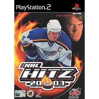 NHL HITZ 2003 (PS2)