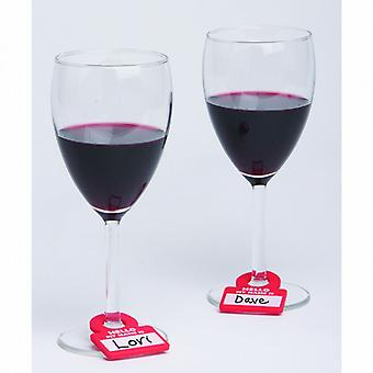 Drink Notes - Reusable Glass Markers