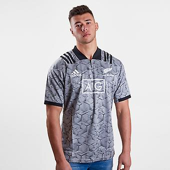 adidas New Zealand All Blacks 2018 Players Rugby Training Shirt