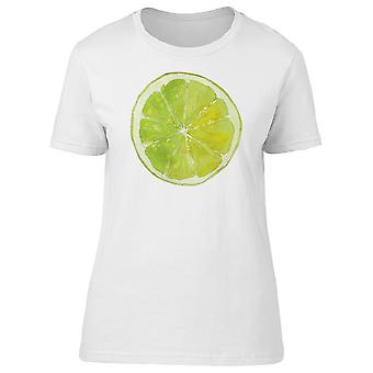 Green Slice Of Lime Tee Women's -Image by Shutterstock