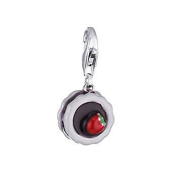 ESPRIT pendant of charms silver sweet tartlet cake ESCH90890A000