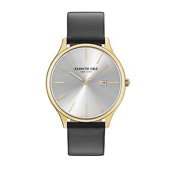 Kenneth Cole New York men's watch wristwatch leather KC15096001