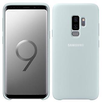 Samsung silikonhölje EF PG965TLEGWW för Galaxy S9 plus G965F case väska blå