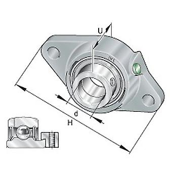 INA PCJT20-XL-N Two Bolt Flanged Housing Unit