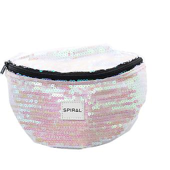 Spiral Glamour Sequins Bum Bag
