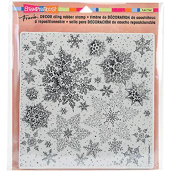 Stampendous Decor Cling Stamp 10