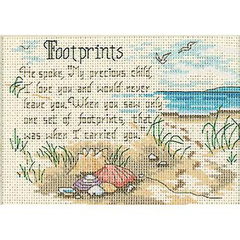 Jiffy He Spoke Mini Counted Cross Stitch Kit-7