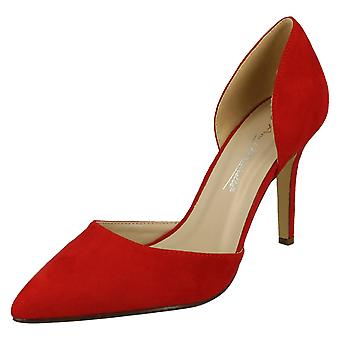 Ladies Anne Michelle Stilleto Court Shoes F9914