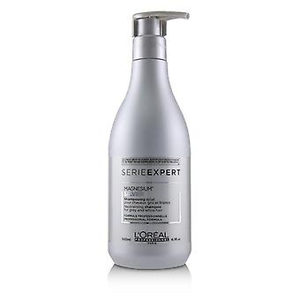 L'oreal Professionnel Serie Expert - Silver Magnesium Neutralising Shampoo (For Grey and White Hair) - 500ml/16.9oz