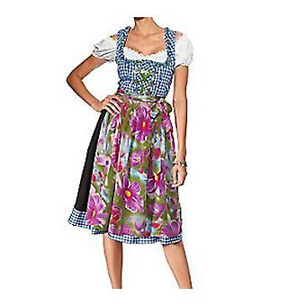 Heine knee Dirndl Dress Carmen blouse blue